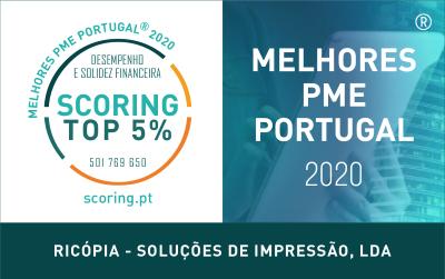 TOP 5% MELHORES PME DE PORTUGAL